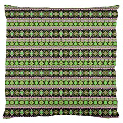 Fancy Tribal Border Pattern 17a Standard Flano Cushion Case (one Side) by MoreColorsinLife