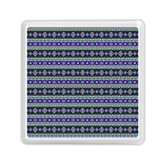 Fancy Tribal Border Pattern 17d Memory Card Reader (square)  by MoreColorsinLife