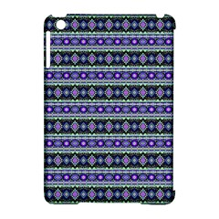 Fancy Tribal Border Pattern 17d Apple Ipad Mini Hardshell Case (compatible With Smart Cover) by MoreColorsinLife