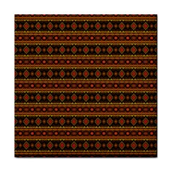 Fancy Tribal Border Pattern 17e Tile Coasters by MoreColorsinLife