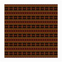 Fancy Tribal Border Pattern 17e Medium Glasses Cloth by MoreColorsinLife