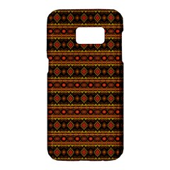 Fancy Tribal Border Pattern 17e Samsung Galaxy S7 Hardshell Case  by MoreColorsinLife