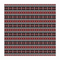 Fancy Tribal Border Pattern 17f Medium Glasses Cloth by MoreColorsinLife