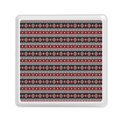 Fancy Tribal Border Pattern 17f Memory Card Reader (square)  by MoreColorsinLife