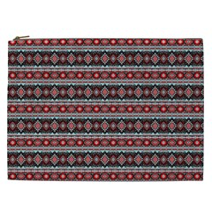 Fancy Tribal Border Pattern 17f Cosmetic Bag (xxl)