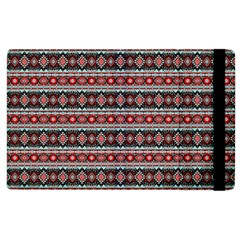 Fancy Tribal Border Pattern 17f Apple Ipad 3/4 Flip Case by MoreColorsinLife