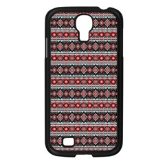 Fancy Tribal Border Pattern 17f Samsung Galaxy S4 I9500/ I9505 Case (black) by MoreColorsinLife