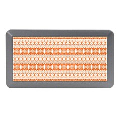 Fancy Tribal Border Pattern 17i Memory Card Reader (mini) by MoreColorsinLife