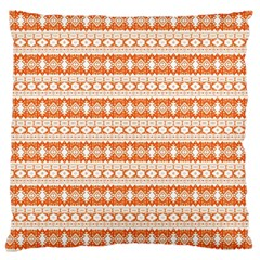 Fancy Tribal Border Pattern 17i Large Cushion Case (one Side) by MoreColorsinLife