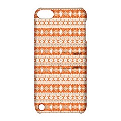 Fancy Tribal Border Pattern 17i Apple Ipod Touch 5 Hardshell Case With Stand by MoreColorsinLife