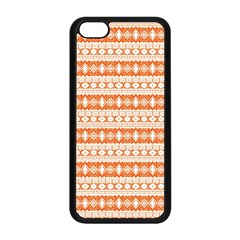 Fancy Tribal Border Pattern 17i Apple Iphone 5c Seamless Case (black) by MoreColorsinLife