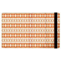Fancy Tribal Border Pattern 17i Apple Ipad Pro 9 7   Flip Case by MoreColorsinLife