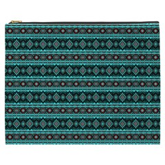 Fancy Tribal Border Pattern 17g Cosmetic Bag (xxxl)  by MoreColorsinLife