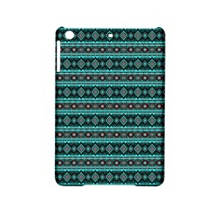 Fancy Tribal Border Pattern 17g Ipad Mini 2 Hardshell Cases by MoreColorsinLife