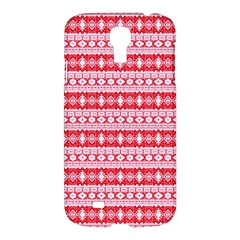 Fancy Tribal Border Pattern 17h Samsung Galaxy S4 I9500/i9505 Hardshell Case by MoreColorsinLife
