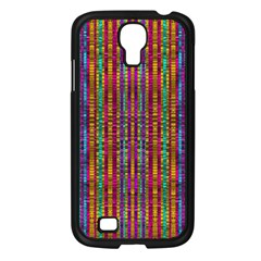Star Fall In  Retro Peacock Colors Samsung Galaxy S4 I9500/ I9505 Case (black) by pepitasart