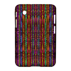 Star Fall In  Retro Peacock Colors Samsung Galaxy Tab 2 (7 ) P3100 Hardshell Case  by pepitasart