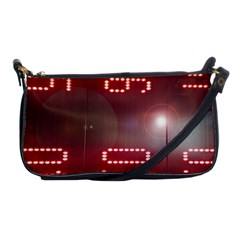 Numbers Game Shoulder Clutch Bags by norastpatrick