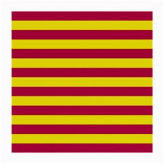 Red & Yellow Stripesi Medium Glasses Cloth (2-side) by norastpatrick