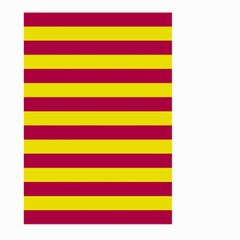 Red & Yellow Stripesi Large Garden Flag (two Sides) by norastpatrick