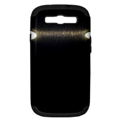 Black Lite!  Samsung Galaxy S Iii Hardshell Case (pc+silicone)