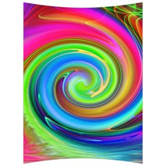 Rainbow Twist Back Support Cushion by norastpatrick