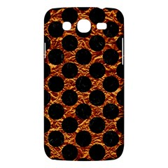 Circles2 Black Marble & Copper Foil (r) Samsung Galaxy Mega 5 8 I9152 Hardshell Case  by trendistuff