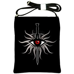 Inquisition Symbol Shoulder Sling Bags by Valentinaart