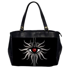 Inquisition Symbol Office Handbags (2 Sides)  by Valentinaart