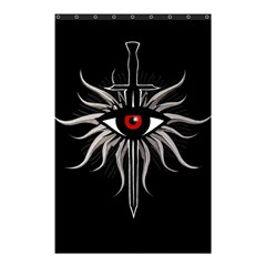 Inquisition Symbol Shower Curtain 48  X 72  (small)
