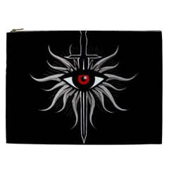Inquisition Symbol Cosmetic Bag (xxl)  by Valentinaart