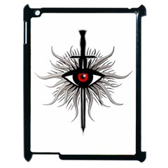 Inquisition Symbol Apple Ipad 2 Case (black) by Valentinaart