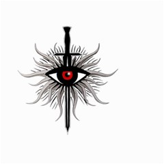 Inquisition Symbol Small Garden Flag (two Sides)