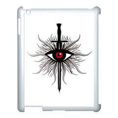 Inquisition Symbol Apple Ipad 3/4 Case (white) by Valentinaart