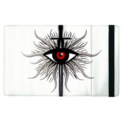 Inquisition Symbol Apple Ipad Pro 9 7   Flip Case by Valentinaart