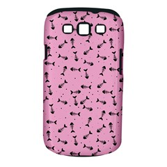 Fish Bones Pattern Samsung Galaxy S Iii Classic Hardshell Case (pc+silicone) by ValentinaDesign