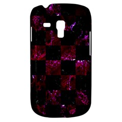 Square1 Black Marble & Burgundy Marble Galaxy S3 Mini by trendistuff