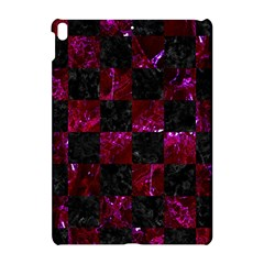 Square1 Black Marble & Burgundy Marble Apple Ipad Pro 10 5   Hardshell Case