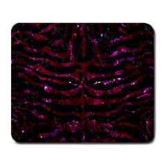 Skin2 Black Marble & Burgundy Marble Large Mousepads by trendistuff