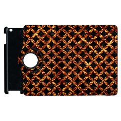 Circle3 Black Marble & Copper Foilper Foil Apple Ipad 2 Flip 360 Case by trendistuff