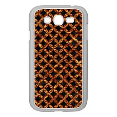 Circle3 Black Marble & Copper Foilper Foil Samsung Galaxy Grand Duos I9082 Case (white) by trendistuff