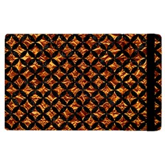 Circles3 Black Marble & Copper Foil (r) Apple Ipad 2 Flip Case by trendistuff