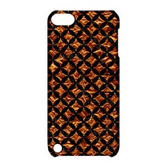 Circles3 Black Marble & Copper Foil (r) Apple Ipod Touch 5 Hardshell Case With Stand by trendistuff