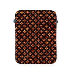Circles3 Black Marble & Copper Foil (r) Apple Ipad 2/3/4 Protective Soft Cases by trendistuff
