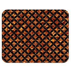 Circles3 Black Marble & Copper Foil (r) Double Sided Flano Blanket (medium)  by trendistuff