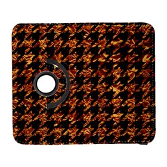 Houndstooth1 Black Marble & Copper Foil Galaxy S3 (flip/folio) by trendistuff