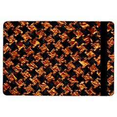 Houndstooth2 Black Marble & Copper Foil Ipad Air 2 Flip by trendistuff