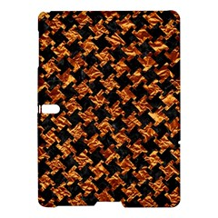 Houndstooth2 Black Marble & Copper Foil Samsung Galaxy Tab S (10 5 ) Hardshell Case  by trendistuff