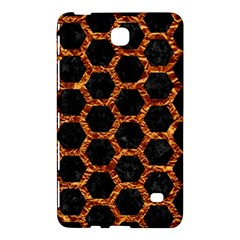 Hexagon2 Black Marble & Copper Foilmarble & Copper Foil Samsung Galaxy Tab 4 (8 ) Hardshell Case  by trendistuff