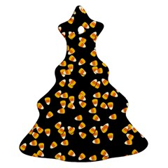Candy Corn Christmas Tree Ornament (two Sides)